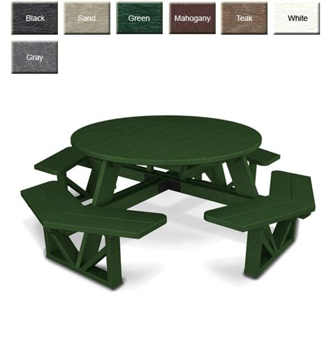 polywood 174 ph53 commercial grade picnic table polywood