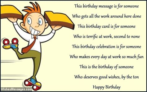 Happy Birthday Quotes For Office Colleagues Birthday Poems For Colleagues Page 3 Wishesmessages Com