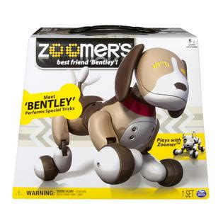 zoomer bentley zoomer by spin master puppy bentley toys