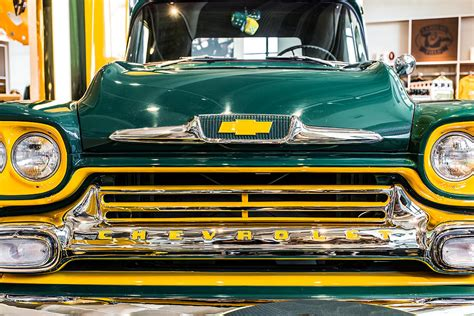 truck green bay green bay chevy truck photograph by lauri novak