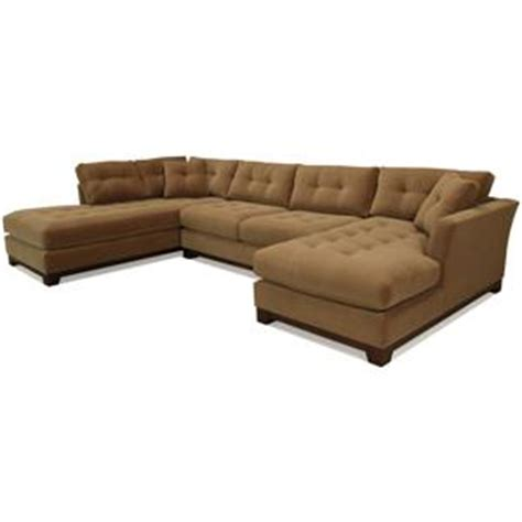 Mccreary Modern Sofa Mccreary Modern 1260 Contemporary Sectional Sofa With Flared Arms And Tufted Cushions