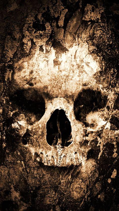 zombie skull hd wallpaper   mobile phone
