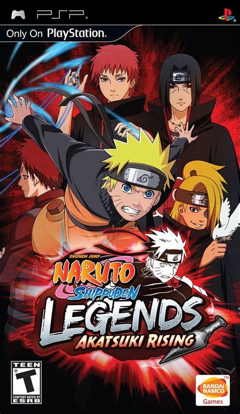 download free psp themes naruto psp themes again naruto shippuden legends akatsuki rising psp iso