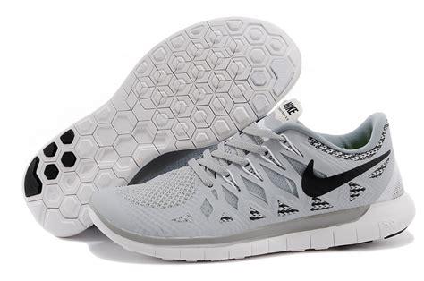black and gray nike running shoes bg 783966 mens nike free 5 0 running shoes grey black