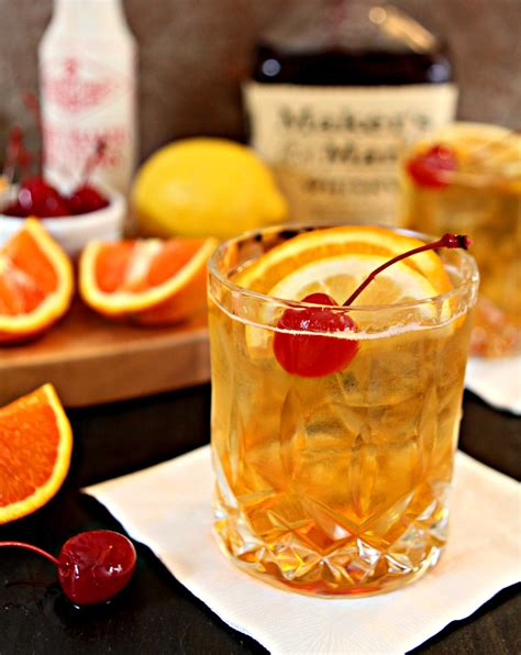 old fashioned cocktail garnish overview for mickslips