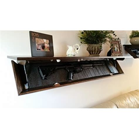 Covert Cabinets by Covert Cabinets Lg 36 Gun Cabinet Wall Shelf With Hid