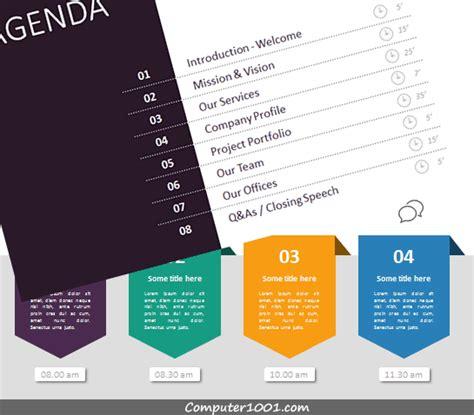 desain daftar isi majalah 41 slide template untuk daftar isi agenda presentasi