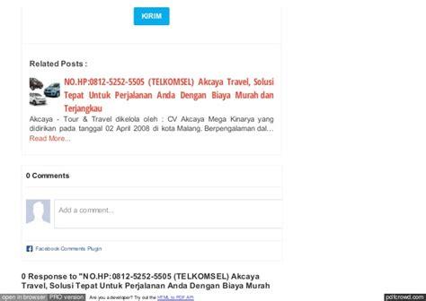 Hp Nokia Xl Di Malang no hp 0812 5252 5505 haryono travel di malang