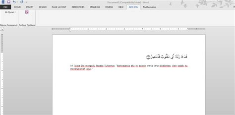 Microsoft Office 2007 Bajakan qur an in word untuk microsoft office word 2007 2010 2013 system biru