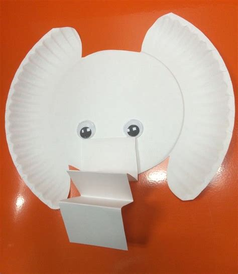 Elephant Paper Plate Craft - 17 best ideas about elephant crafts on zoo