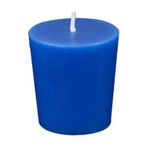 Candle Centerpieces For Wedding Blue Votive Candles