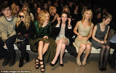 Catwalk To Front Row Fashion Week by Fashion Week Burberry Set To World S
