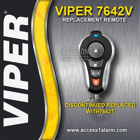 Viper 7642v Sst Responder Remote Control Replacement