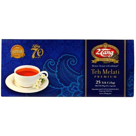 Teh Tubruk 2tang Premium Biru 2tang premium tea bags 50 gram 2 tang teh celup melati premium 25 ct 2 gr