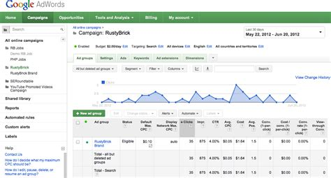 adsense keyword google s new adwords interface now rolling out