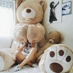 Plush Bed Best 25 Big Teddy Bear Ideas Only On Pinterest Big