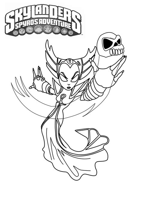 krypt king coloring pages skylanders coloring page hex skylanders pinterest
