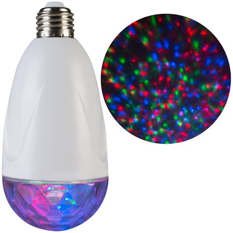 lightshow projection standard light bulb kaleidoscope