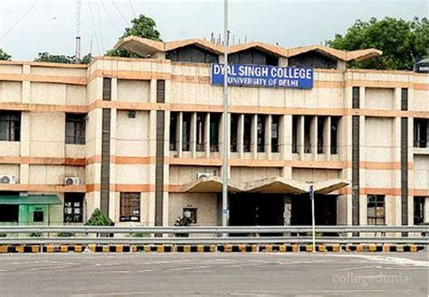 Delhi School Of Economics Mba Fees by Dyal Singh College Dsc New Delhi Courses Fees 2017 2018
