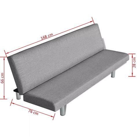 divani grigio divano letto grigio chiaro vidaxl it