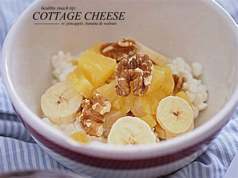 healthy snacks with cottage cheese healthy cottage cheese snacks healthy snack cottage cheese