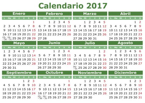 Calendario 2016 Al 2017 Calendar 2017 Imagenes Educativas