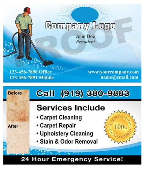 Free Carpet Cleaning Business Cards Templates by Free Carpet Cleaning Business Cards Templates Carpet