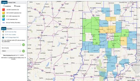 vectren power outage map 16 000 indiana duke energy customers lose power in tuesday