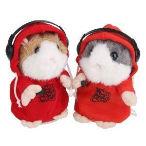 Talking Hamster Boneka Hamster Bicara Boneka Hamster Peniru Suara mimicry pet rapper hamster 194 barang unik china