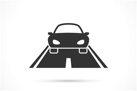 Car Icons by Car On The Road Icon Icons Creative Market