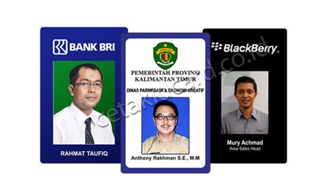 design id card karyawan jual dan jasa cetak id card pegawai kartu karyawan harga