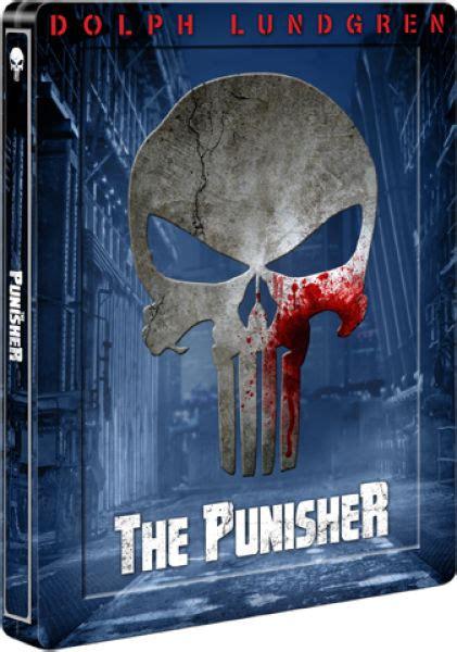 Wooowwexclusive Custom The Punisher 1 Limited Edition the punisher dolph lundgren limited edition steelbook zavvi
