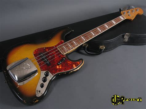 Bass Fender Jazz Sunbers fender jazz bass 1968 3 tone sunburst bass for sale guitarpoint