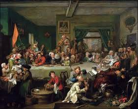 William hogarth s election series unmasks the follies of democracy a