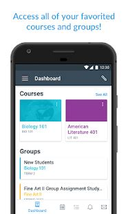 rutgers university access canvas mobile device canvas student android apps on google play