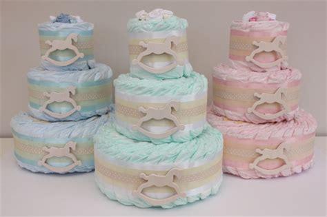 Rocking Baby Shower Cake by 3 Tier Bronze Rocking Nappy Cake Baby Shower