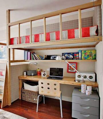 cama con escritorio debajo camas con escritorio debajo una combinacion perfecta