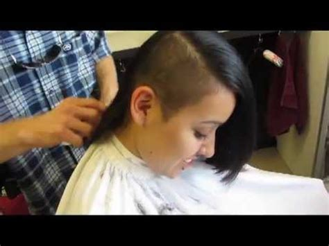 youtube buzz cut haircut long hair buzz side haircut video youtube