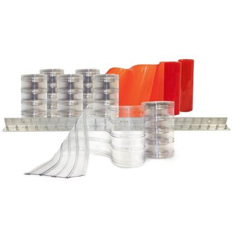 aleco strip curtains aleco 440057 clear flex ii standard scratch guard ribbed