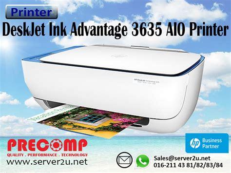 Sale Printer Hp Deskjet Ink Advantage 3635 All In One Wireless Wifi hp deskjet ink advantage 3635 aio p end 8 30 2016 12 15 pm