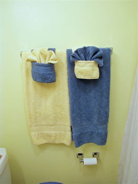 hanging bathroom towels decoratively fancy towels w pockets dinner discourse