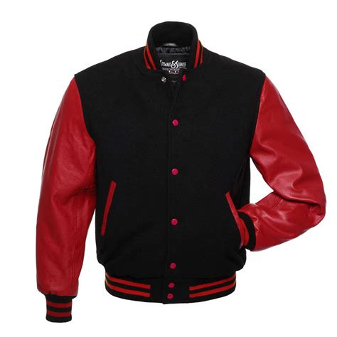 Baseball Jackrt Blackstar Ori Black Grey new black wool and scarlet leather varsity letterman jacket baseball ebay