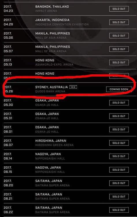 bts schedule bts tour dates 2017 lifehacked1st com