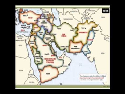 middle east map redrawn redrawn map of the middle east ww iii 2012