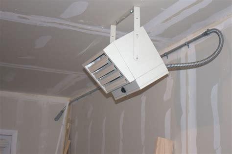 garage heating ventilation ideas
