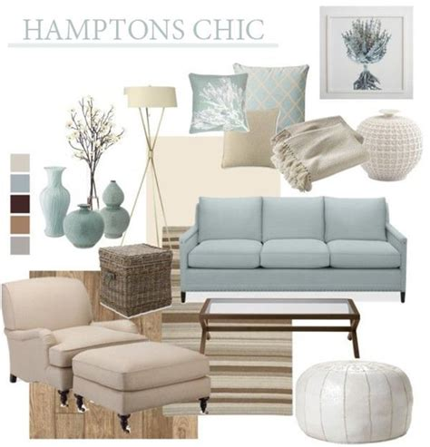 dream beach cottage with neutral coastal decor home htons chic beach house style mood boards pinterest