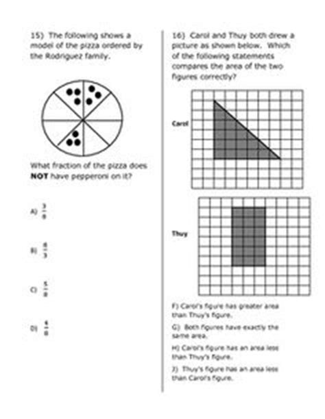 3rd Grade Math Staar Test Practice Worksheets 1000 images about staar on staar test test