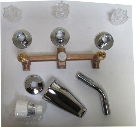 Mobile Home Shower Faucet Repair by 3 Valve Tub Shower Faucet