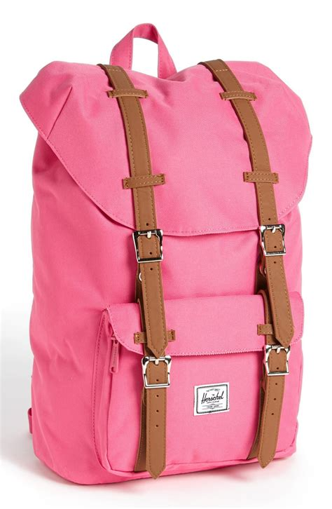 light pink herschel backpack herschel supply co america medium backpack in pink