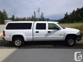 2003 chevrolet duramax trade westbank for sale in